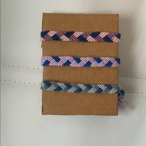3 Pack Friendship Bracelets!